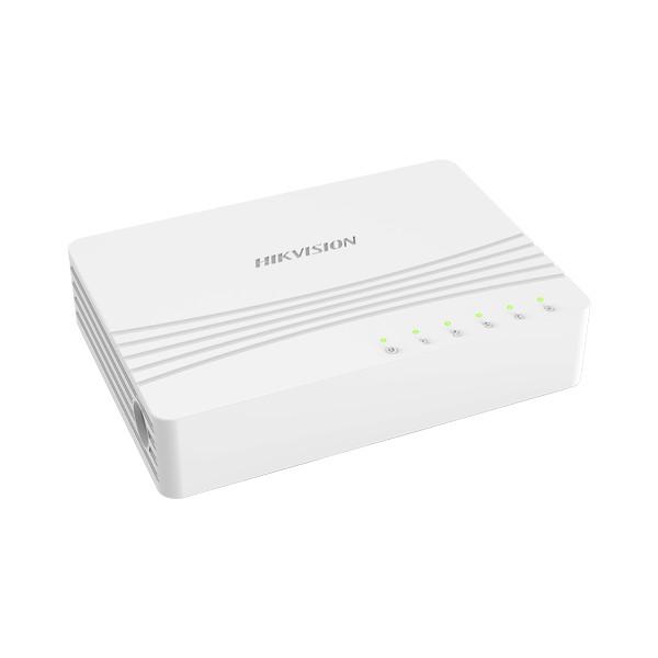 Switch ethernet 5 ports 10/100/1000 Mbps HIKVISION