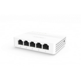 Switch ethernet 5 ports 10/100/1000 Mbps HIKVISION