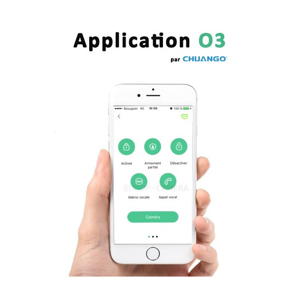 Application CHUANGO O3 ALARM