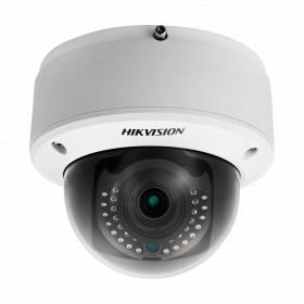 Caméra Dôme IP Zoom Motorisée X4 anti-vandal IR 30M ONVIF HIKVISION POE FULL HD 1080P - DS-2CD4124F-IZ