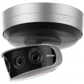 Caméra IP HIKVISION Panoramique 24MP avec 4 caméras de 6 MexaPixels - ref : DS-2CD6A64F-IHS/NFC