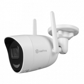 Caméra IP Tube WIFI IR 30M ONVIF 4 MegaPixels H265+ SAFIRE par HIKVISION