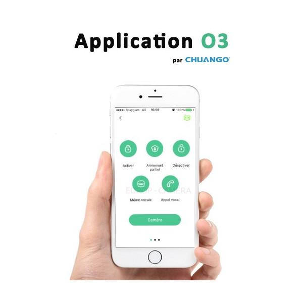 Application CHUANGO O3 ALARM
