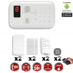 Système d'alarme sans fil GSM immunité animaux CHUANGO O3 / G5 / S5