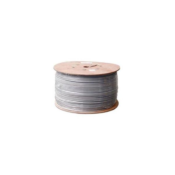 Câble multibrin ethernet rj45 Cat 5E UTP touret de 500m