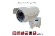 Tubes Anti-vandal 700 TVL EFFIO-E 960H 1/3 Sony SUPER HAD CCD 2 Varifocal IP66 IR 40m / EC-C700V  - Caméra de Vidéo surveillance
