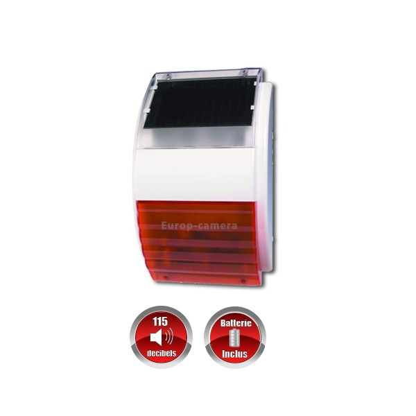Alarme professionnel 868 mhz gsm rtc compatible box for Alarme exterieur sans fil