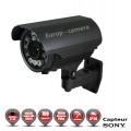 Tube 700 TVL EFFIO-E 960H 1/3 SONY SUPER HAD CCD 2 Varifocal 5-50 mm DWDR IP66 IR 100m / EC-V550 - Caméra de vidéo surveillance