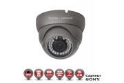 Dômes Anti-vandal 1000 TVL 960H 1/3 SONY IMX138 Varifocal IP66 IR 40m / EC-AVD1000 - Caméra de Vidéo surveillance