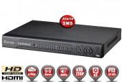 Enregistreur numérique 5 en 1 XVR AHD CVI TVI IP 16 canaux H264 HD 720P & 1080P / Ref : EC-DVRAHD16