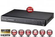 Enregistreur numérique HVR AHD 8 canaux H264 FULL HD 1080P / Ref : EC-DVRAHD81080