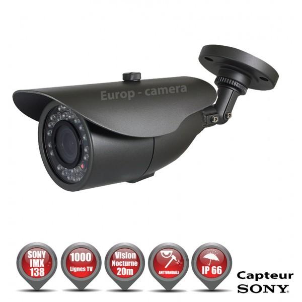 pack video-surveillance confort 4 cameras tubes compatible ...
