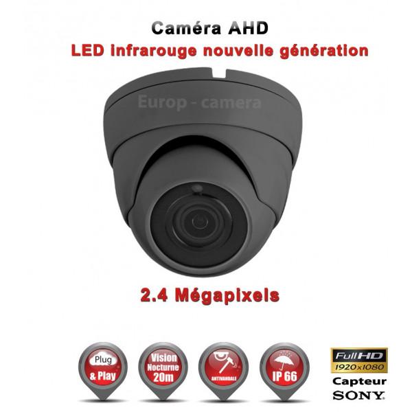 Mini Dôme AHD / CVI / TVI Capteur SONY 2.1MP FULL HD 1080P IR 20m étanche réf: EC-AHDD20FHD - caméra surveillance