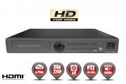 Enregistreur numérique Trybride AHD 24 canaux H264 HD 720P / Ref : EC-DVRAHD24