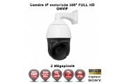 Caméra de vidéo surveillance motorisée PTZ 360° IP FULL HD 1080P ONVIF IR 140M ZOOM X36 Exterieur / EC-PTZIP36X