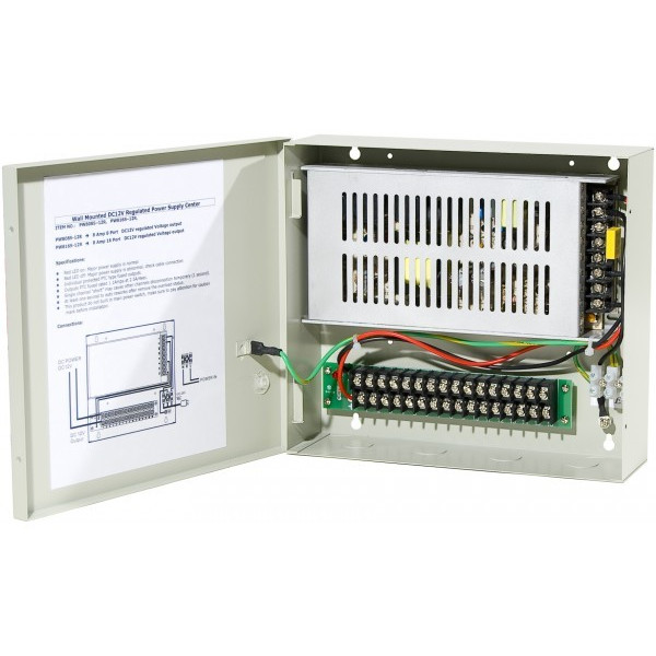 Alimentation professionnelle 12 volts - 5 amp - 4 sorties
