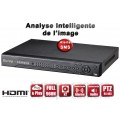 Enregistreur numérique 8 canaux H264 FULL 960H / Ref : EC-DVR960H8 - HDMI - Plug and play - Analyse intelligente