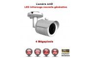 "Tube AHD Anti-vandal 4 MegaPixels Capteur 1/3"" OV IR 20m étanche réf: EC-AHDC20B4MP - caméra surveillance"