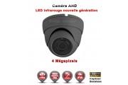 "Mini Dôme AHD Anti-vandal 4 MegaPixels Capteur 1/3"" OV IR 20m étanche réf: EC-AHDD204MP - caméra surveillance"
