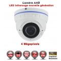 "Dôme AHD Anti-vandal 4 MegaPixels Capteur 1/3"" OV IR IR 35m étanche réf: EC-AHDD30B4MP - caméra vidéo surveillance"