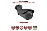 "Tube AHD Anti-vandal  MegaPixels Capteur 1/3"" OV IR 60m étanche réf: EC-AHDC604MP - caméra vidéo surveillance"