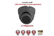 "Mini Dôme AHD / CVI / TVI FULL HD 1080P 2.4MP Capteur 1/2.7"" SONY IMX323 IR 20m étanche réf: EC-AHDD20FHD - caméra surveillance"