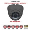 "Dôme AHD / CVI / TVI FULL HD 1080P 2.4MP Capteur 1/2.7"" SONY IMX323 IR 35m étanche réf: EC-AHDD30FHD - caméra vidéo surveillance"