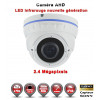 Dôme AHD / CVI / TVI Capteur SONY 2.1MP FULL HD 1080P IR 35m étanche réf: EC-AHDD30FHDB caméra vidéo surveillance