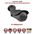 "Tube AHD / CVI / TVI FULL HD 1080P 2.4MP Capteur 1/2.7"" SONY IMX323 IR 60m étanche réf: EC-AHDC60FHD - caméra vidéo surveillance"