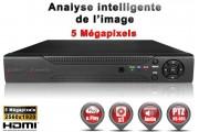 Enregistreur numérique 5 EN 1 XVR AHD CVI TVI IP 4 canaux H264+ 4 MegaPixels & 5 MegaPixels / Ref : EC-DVRAHD4MP4