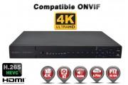Enregistreur numérique NVR réseau 32 canaux H265 IP ONVIF UHD 4K 5MP 3MP 1080P FULL HD / Ref : EC-NVR5MP8