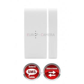 Détecteur d'ouverture Porte / Fenêtre sans fil bi-directionnel compatible CHUANGO O3 / G5 / S5 / S9 / A9