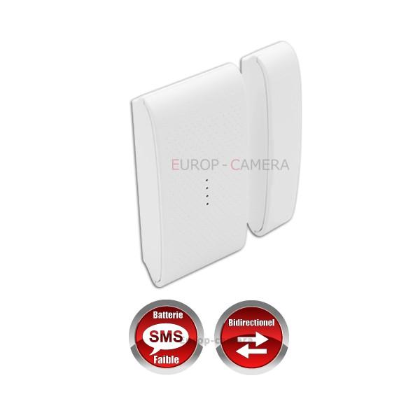 Détecteur Du0027ouverture Porte / Fenêtre Sans Fil Bi-directionnel Compatible  CHUANGO O3 / G5 / S5 / S9 / A9