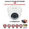 DÔME IP ZOOM Motorisée Zoom X5 ANTI-VANDAL IR 35M ONVIF POE SONY 1080P 2.4 MP / REF : EC-D2MP30AZ - CAMÉRA NUMÉRIQUE IP