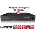 Enregistreur numérique HVR 16 canaux H264 FULL D1 / EC-DVR16FD1 - HDMI - Plug and play - Analyse intelligente