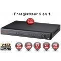 Enregistreur numérique 5 en 1 XVR AHD CVI TVI IP 16 canaux H264 HD 720P / EC-DVR960H16-1