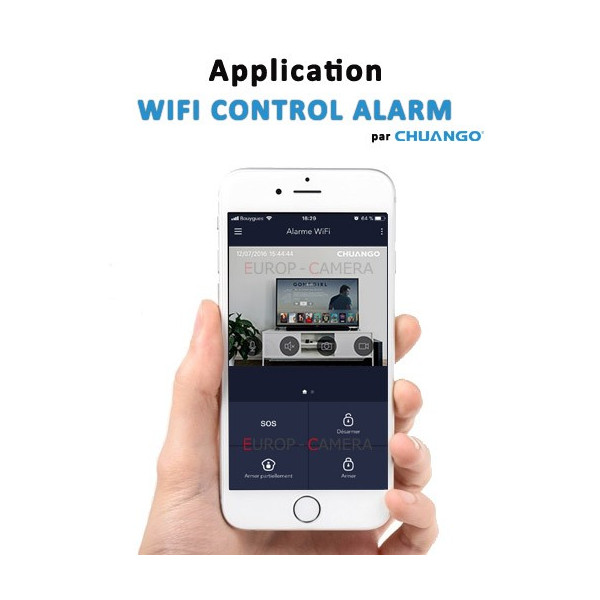 Application CHUANGO WIFI CONTROL ALARM