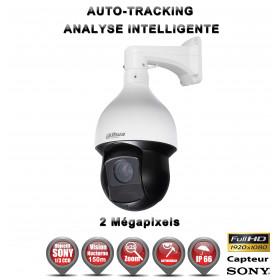 Caméra de vidéo surveillance motorisée PTZ 360° IP FULL HD 1080P ONVIF IR 150M ZOOM X25 AUTO-TRACKING Exterieur / EC-PTZIP25XAT