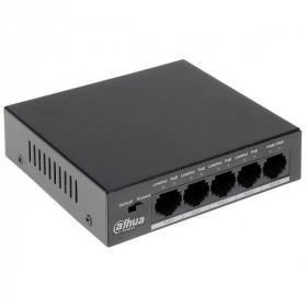 Switch ethernet POE 5 ports (4 + 1)