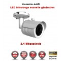 "Tube AHD / CVI / TVI FULL HD 1080P 2.4MP Capteur 1/2.7"" SONY IMX323 IR 30m étanche réf: EC-AHDC20FHD - caméra vidéo surveillance"