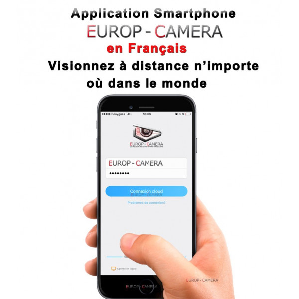 Application Smartphone EUROP CAMERA