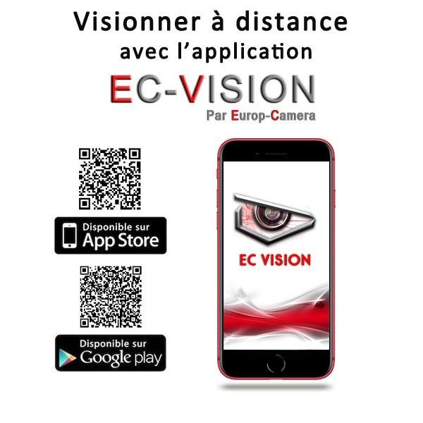 Application Smartphone EC-VISION