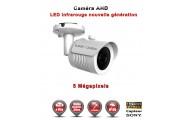 "Tube AHD Anti-vandal 5 MegaPixels Capteur 1/3"" SONY IR 30m étanche réf: EC-AHDC20B4MPS - caméra surveillance"