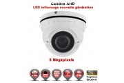 "Dôme AHD Anti-vandal 5 MegaPixels Capteur 1/3"" SONY IR IR 35m étanche réf: EC-AHDD304BMPS - caméra vidéo surveillance"