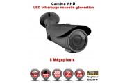 """Tube AHD Anti-vandal 5 MegaPixels Capteur 1/3"""" SONY IR 60m étanche réf: EC-AHDC604MPS - caméra vidéo surveillance"""