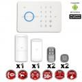 Système d'alarme sans fil GSM / G5 / S5