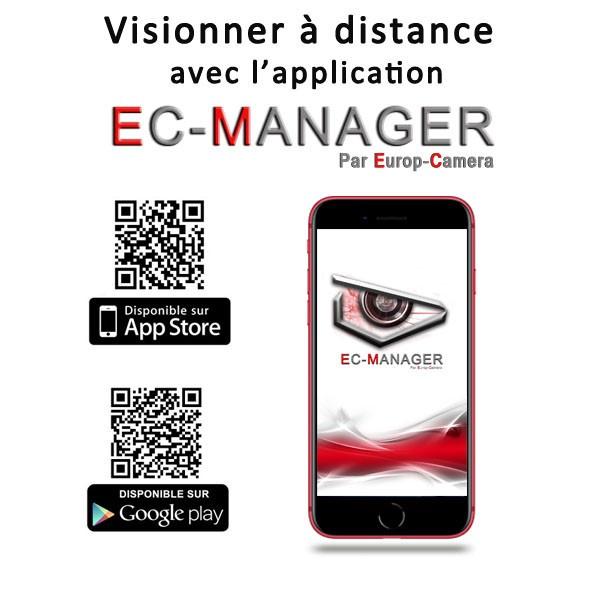 Application Smartphone EC MANAGER