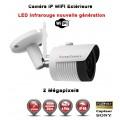 TUBE IP WIFI ANTI-VANDAL IR 30M ONVIF SONY 1080P 2.4 MP / REF : EC-C3MP30W - CAMÉRA DE VIDÉO SURVEILLANCE NUMÉRIQUE IP