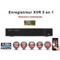 Enregistreur numérique 5 en 1 XVR AHD CVI TVI IP 16 canaux H265+ 5MP 4MP 1080P FULL HD / Ref : EC-XVR16-1080PH265