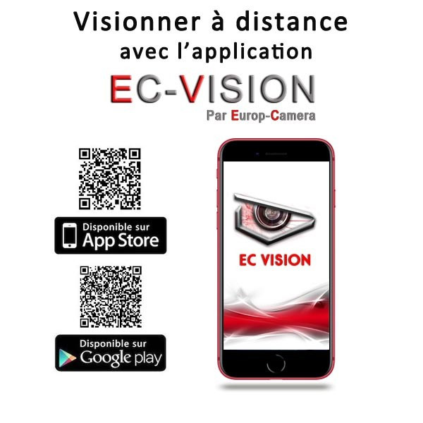 Application Smartphone EC-VISION